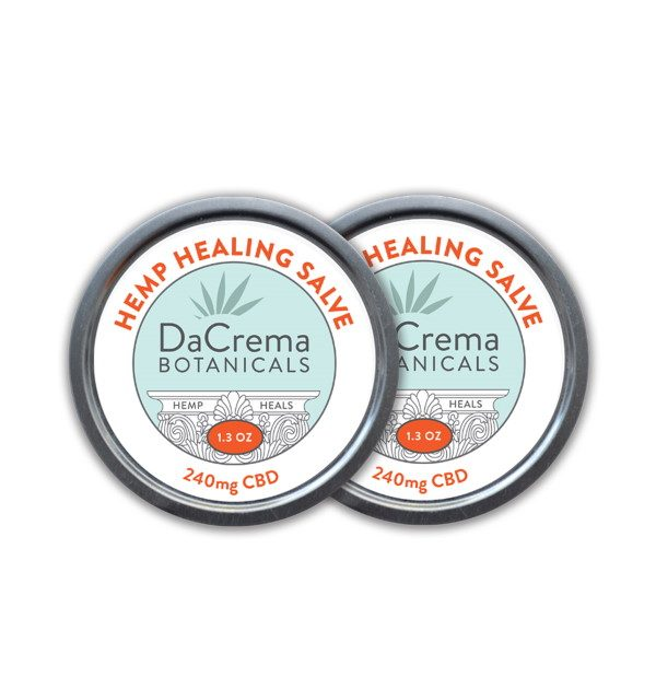 Dacrema Botanicals CBD Healing Products Salve Combo Pack 7