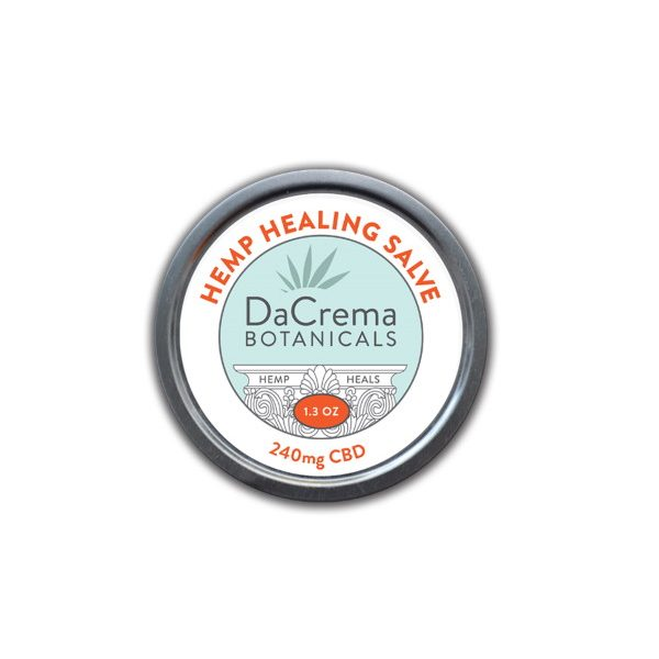 Dacrema Botanicals CBD Topical Salve 240mg