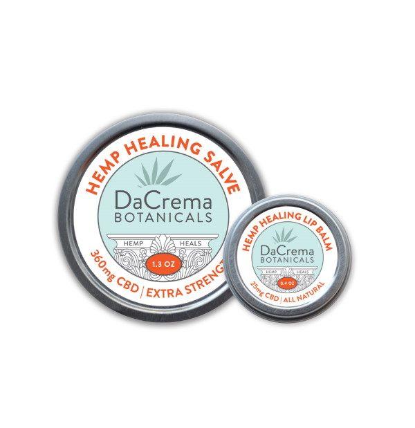 Dacrema Botanicals CBD Oil Product Combo Pack 9