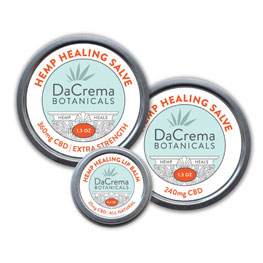 DaCrema Botanicals CBD Hemp Oil Products